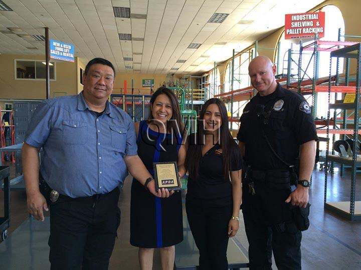 A Surprise Taco Man Delivery to the Azusa Police Department