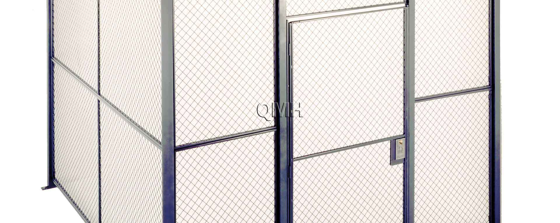 Wire Mesh Partition: Perfect for Data Security | QMH, Inc.