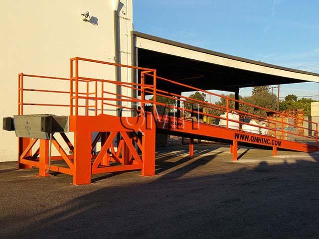 Custom Access Ramp Installation in Santa Ana, California