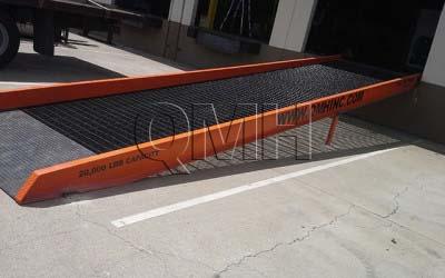 Access Ramp vs Permanent Concrete Ramp