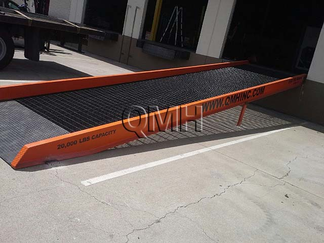 Access Ramp vs Permanent Concrete Ramp
