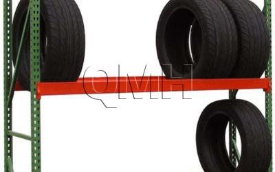 Tire Racks Made from Bulk Rack Shelving