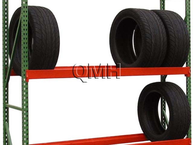 Tire Racks Made from Bulk Rack Shelving