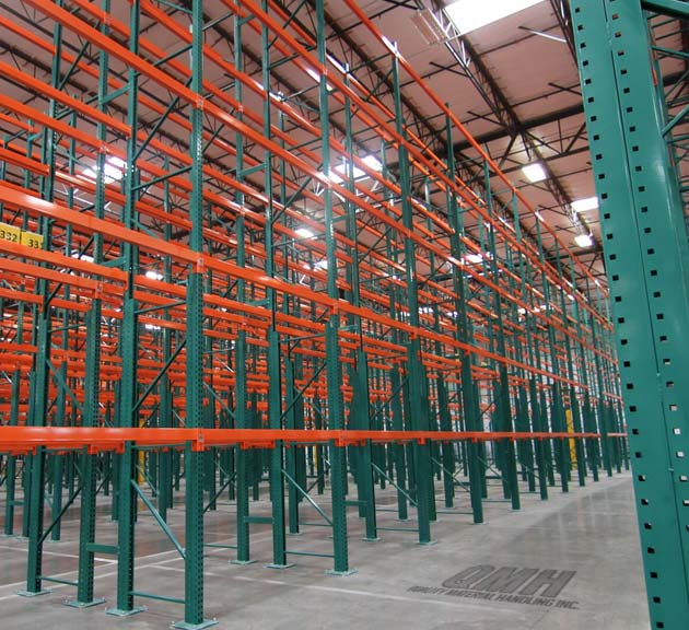 pallet racks and shelving