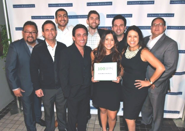 LA business journal top 100 QMH