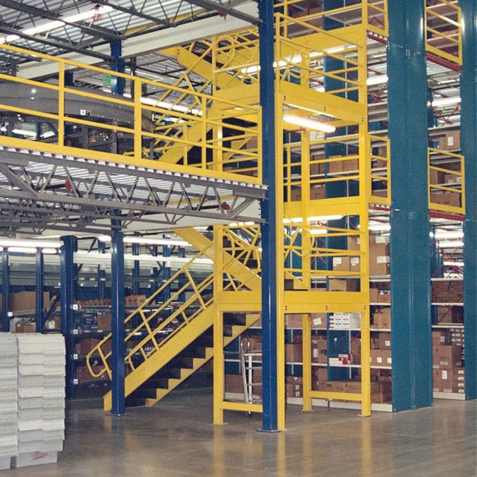 Structural Warehouse Mezzanines