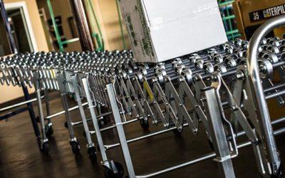 Skate Roller Conveyor Systems Increase Efficiency