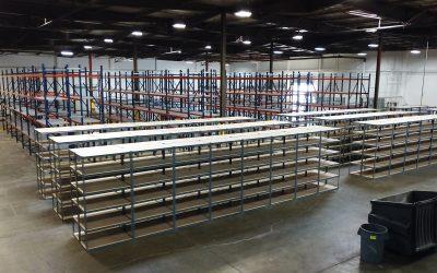 WAREHOUSE RELOCATION: Maximizing Storage & Providing Dock Solutions